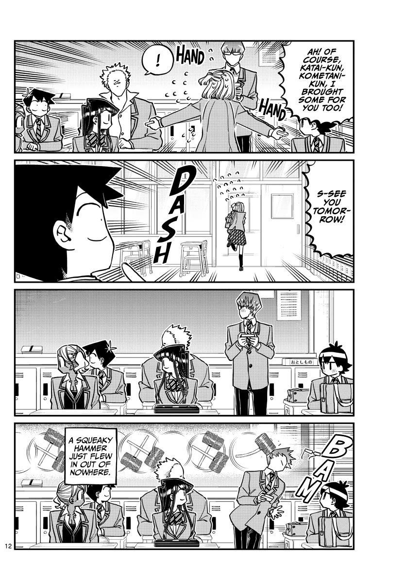 Komi-San Wa Komyushou Desu Chapter 299: Valentine's Day, Second Year Edition page 12 - Mangakakalot