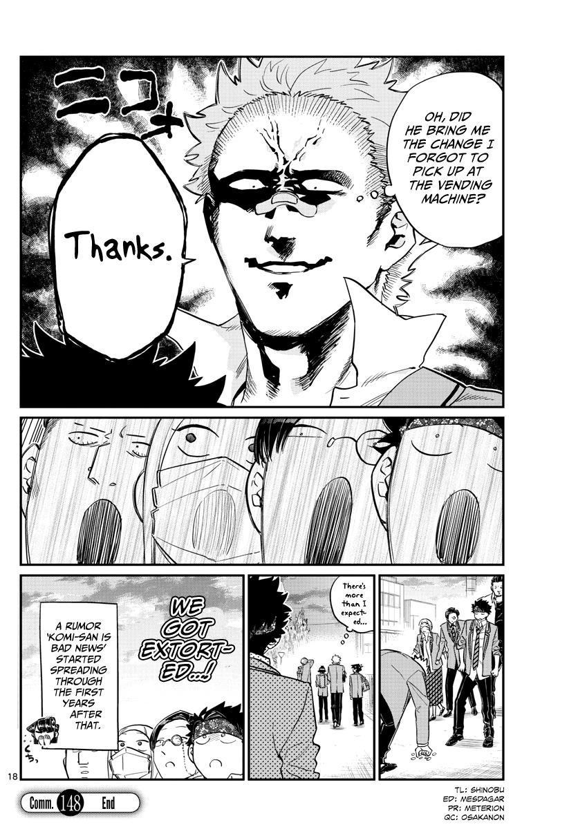 Komi-San Wa Komyushou Desu Vol.11 Chapter 148: Delinquents 4 page 5 - Mangakakalot