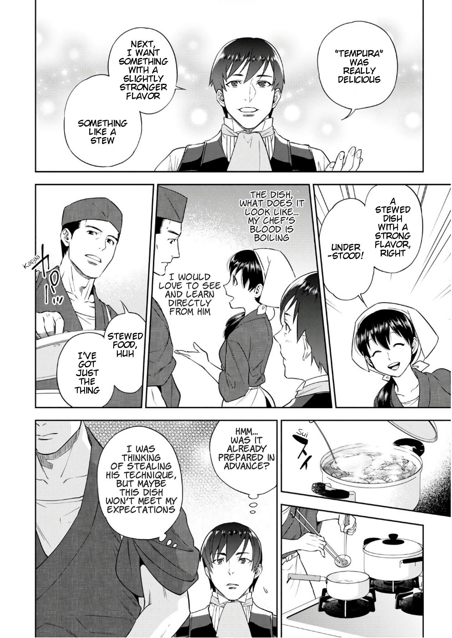 Isekai Izakaya Vol.6 Chapter 36: Beef Tendon Doteyaki page 17 - Mangakakalots.com