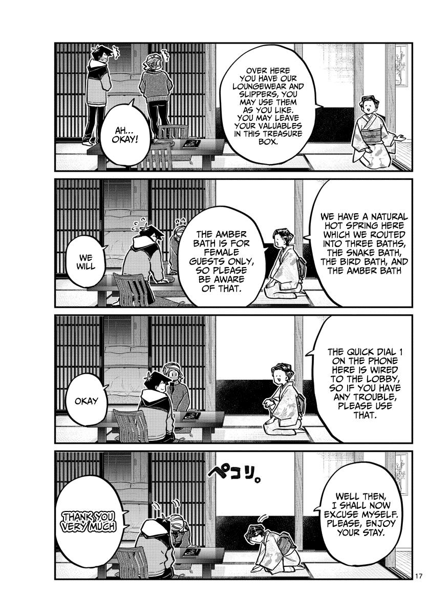 Komi-San Wa Komyushou Desu Chapter 263: Inn page 17 - Mangakakalot