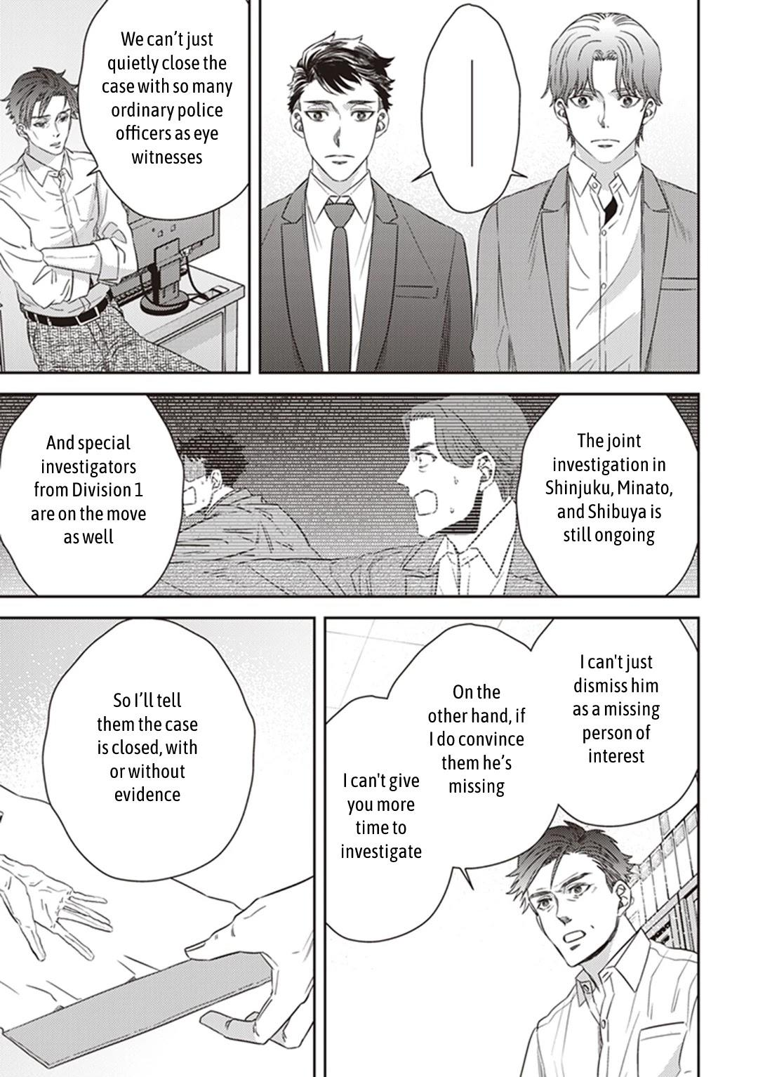 Midnight Occult Civil Servants Chapter 38: Becoming A Demon (Part 4) page 37 - Mangakakalots.com