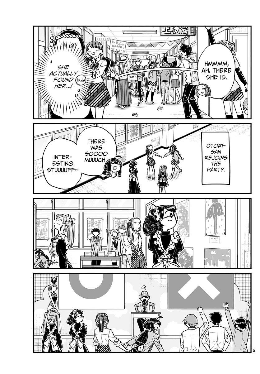 Komi-San Wa Komyushou Desu Vol.5 Chapter 71: The Cultural Festival 2 page 5 - Mangakakalot