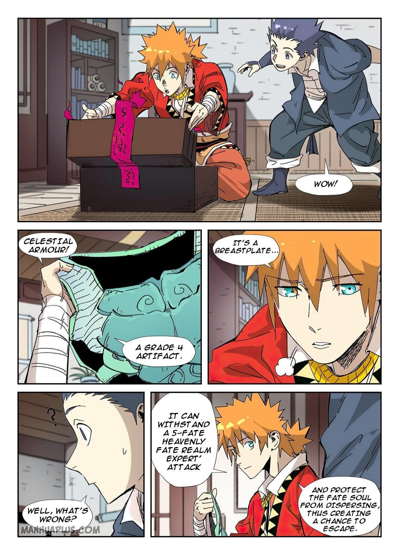 Tales Of Demons And Gods Chapter 331.5 page 4 - Mangakakalots.com
