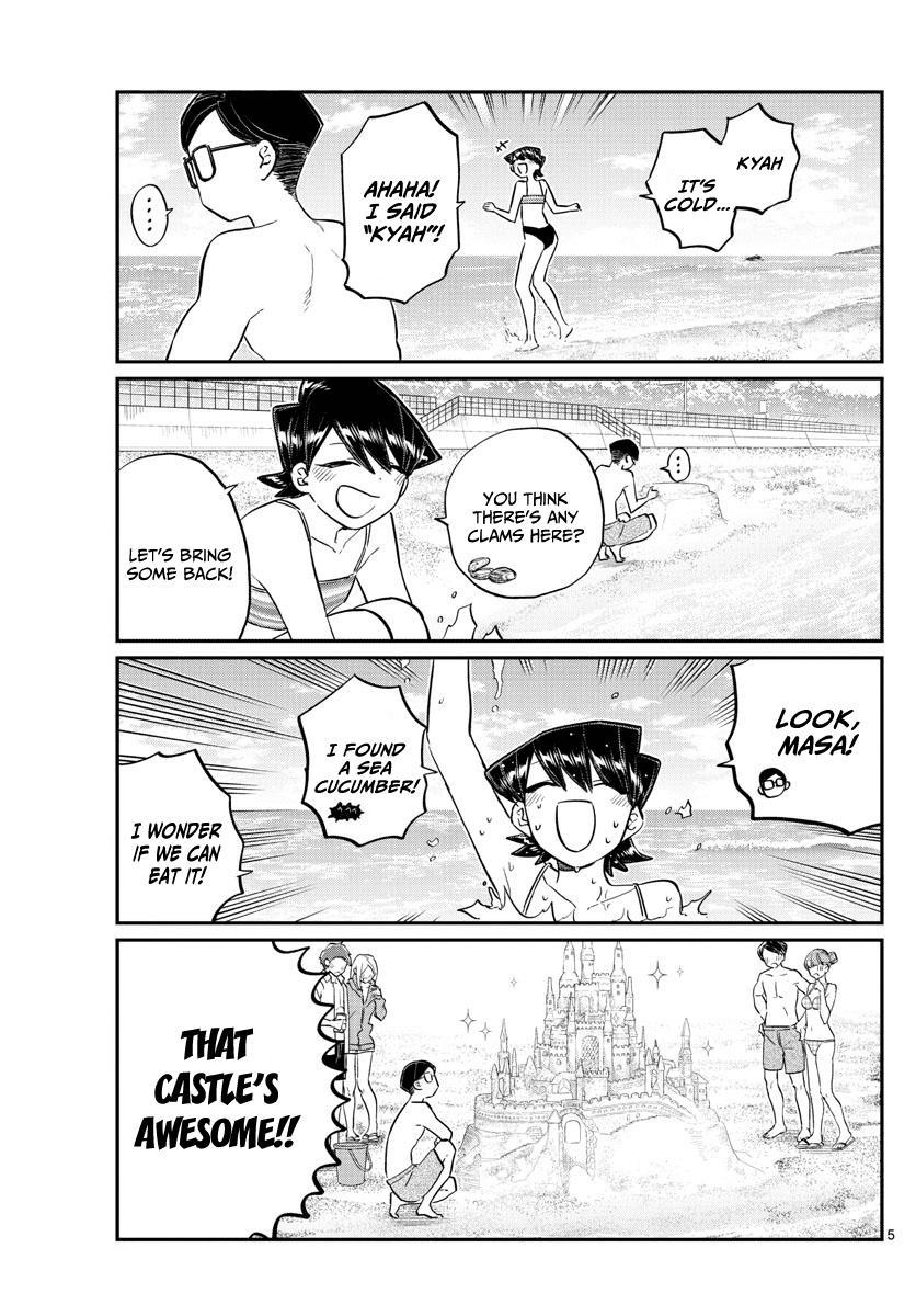 Komi-San Wa Komyushou Desu Vol.12 Chapter 166: Dad And Mom At The Sea page 5 - Mangakakalot
