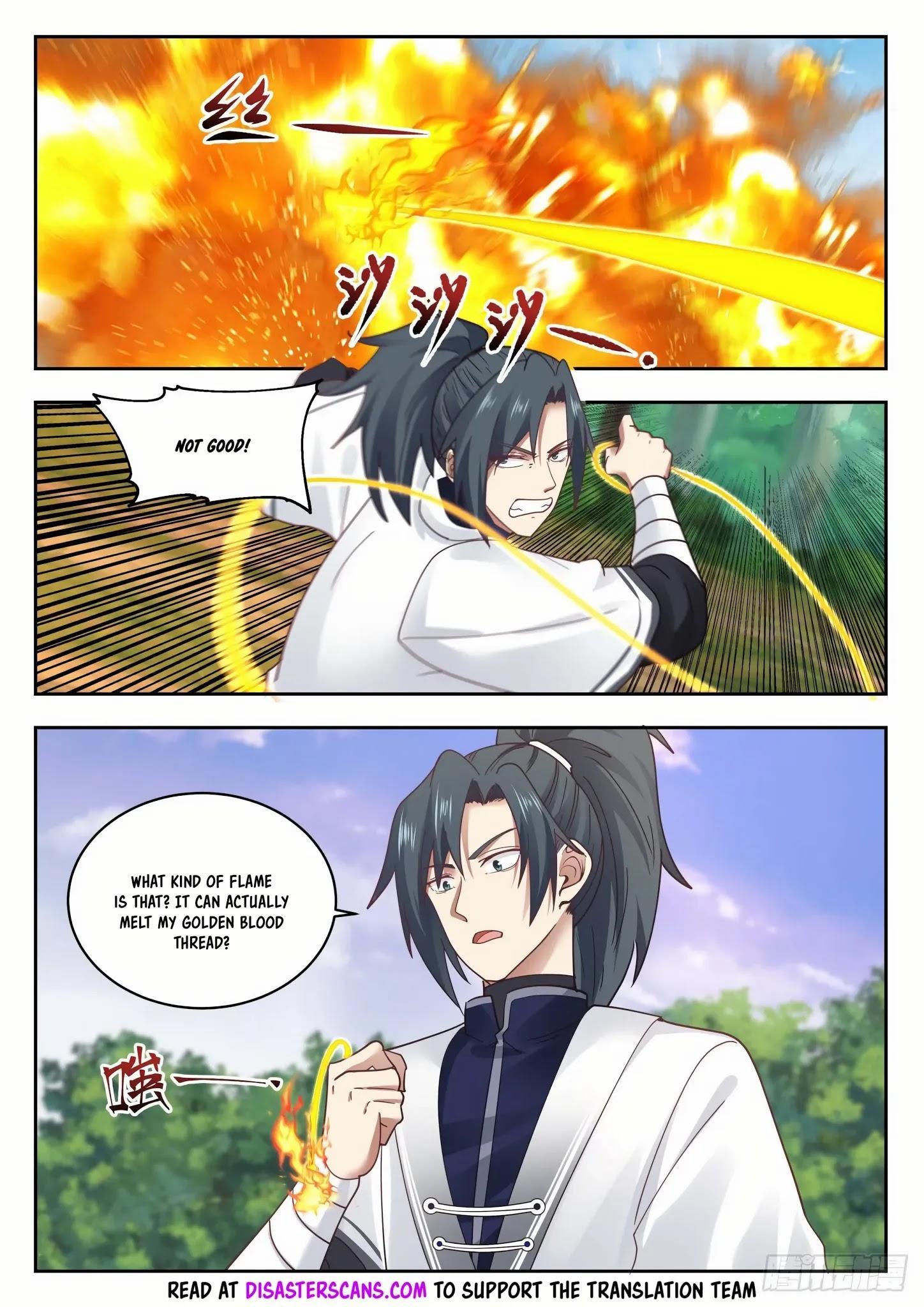 Martial Peak Chapter 1313: Heaven Scorching Thunder Fire page 7 - Mangakakalots.com