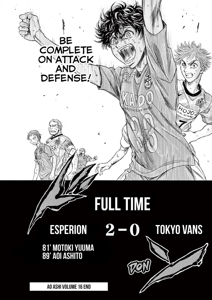 Ao Ashi Vol.16 Chapter 169: Premonition Of Complete page 21 - Mangakakalots.com