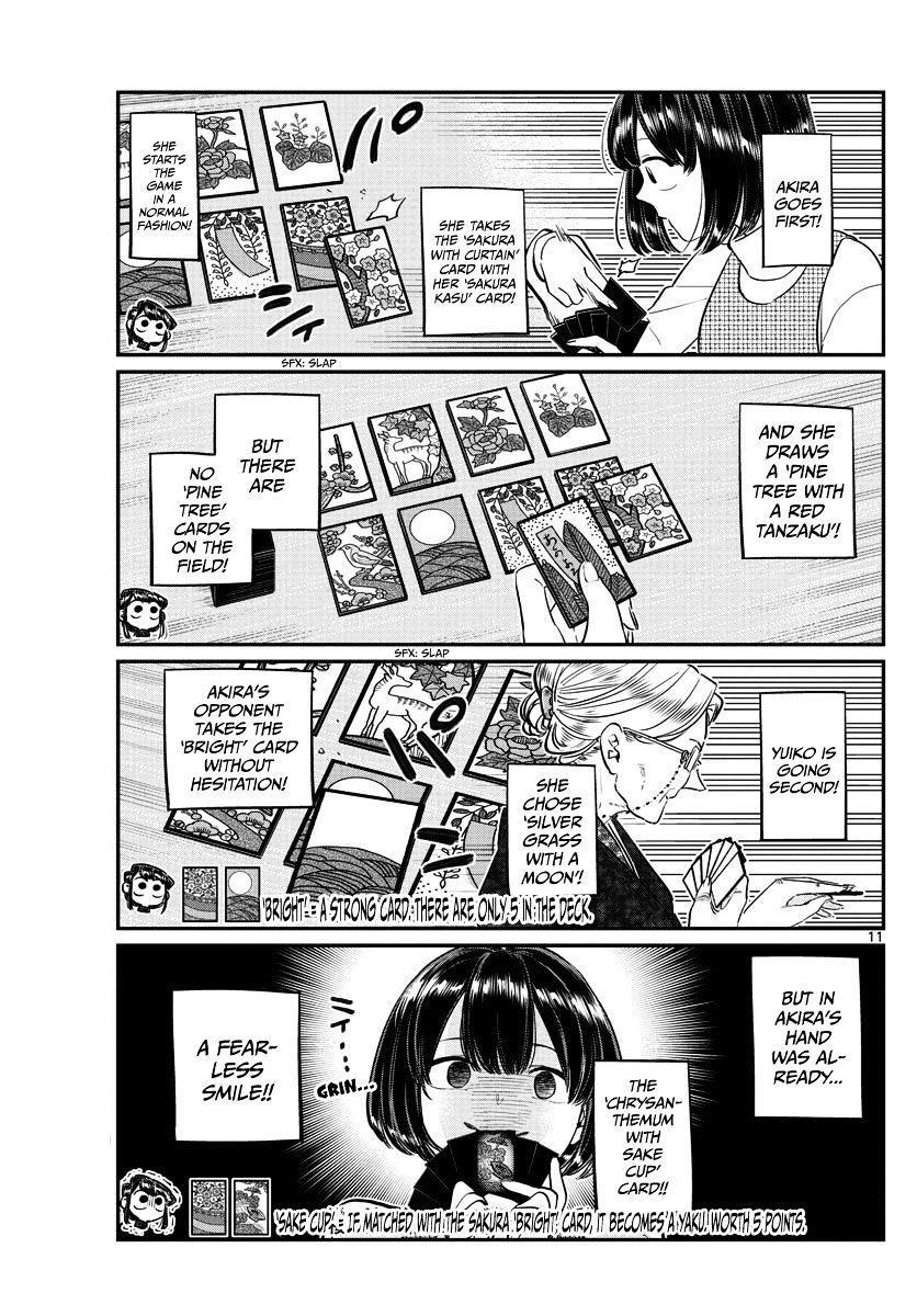 Komi-San Wa Komyushou Desu Vol.7 Chapter 91: End Of The Year page 11 - Mangakakalot