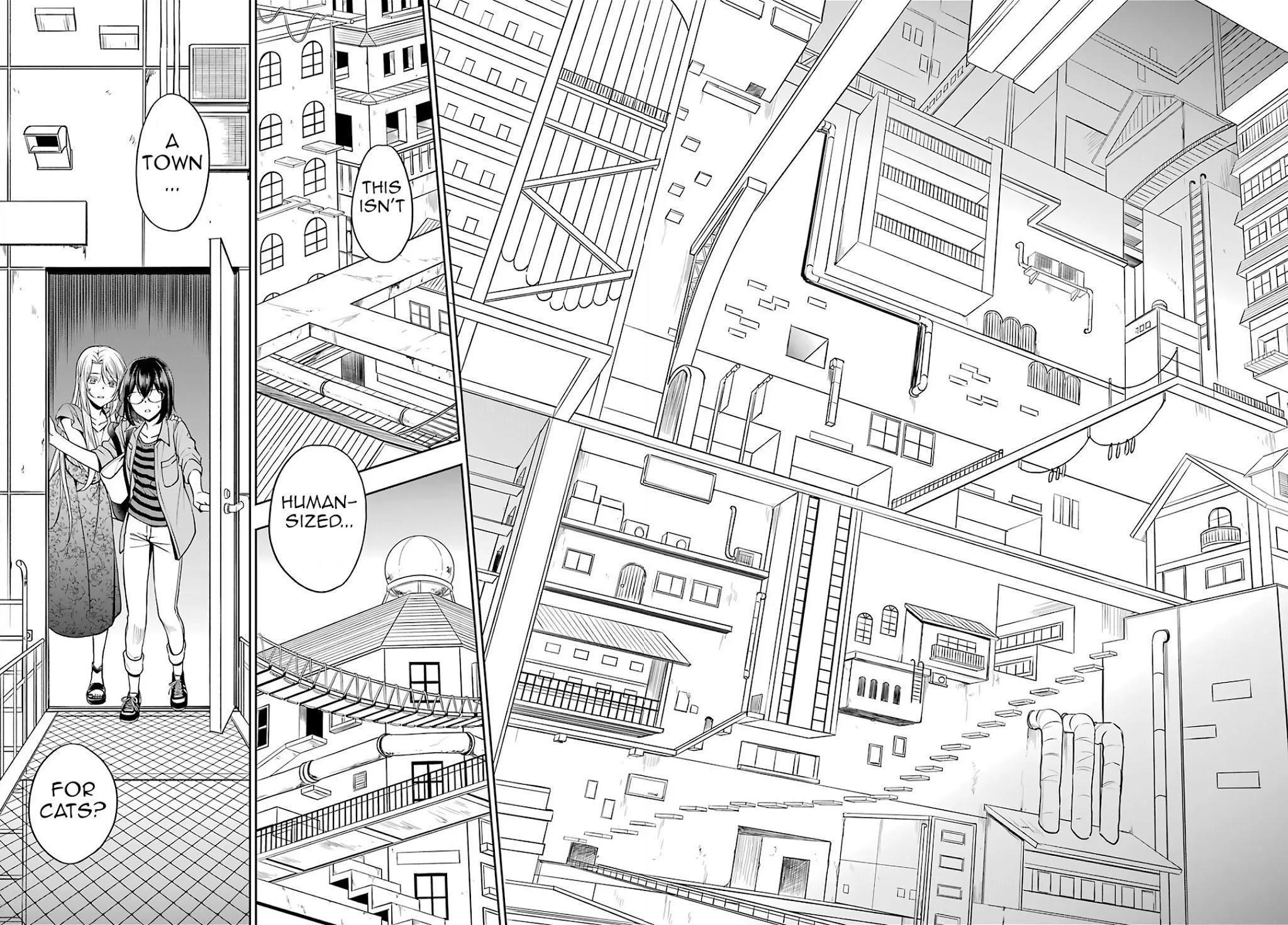 Urasekai Picnic Chapter 40: Attack Of The Ninja Cats Iv page 12 - Mangakakalots.com