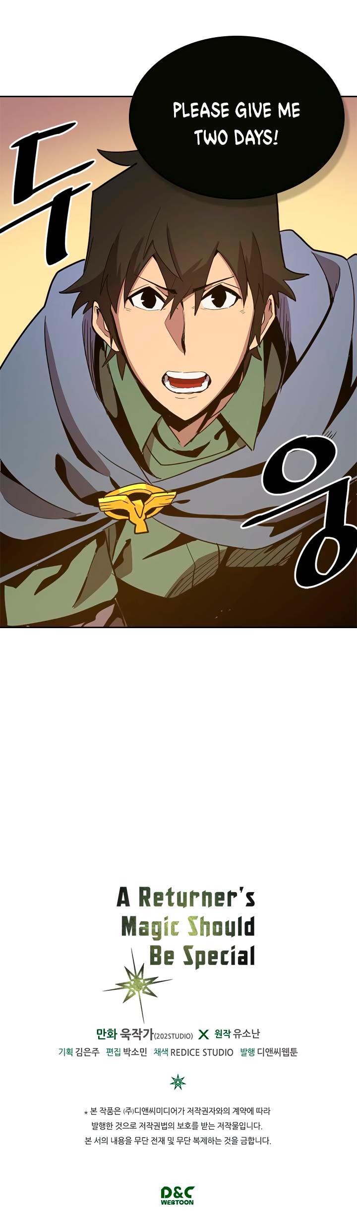 A Returner's Magic Should Be Special Chapter 66 page 33 - Mangakakalots.com