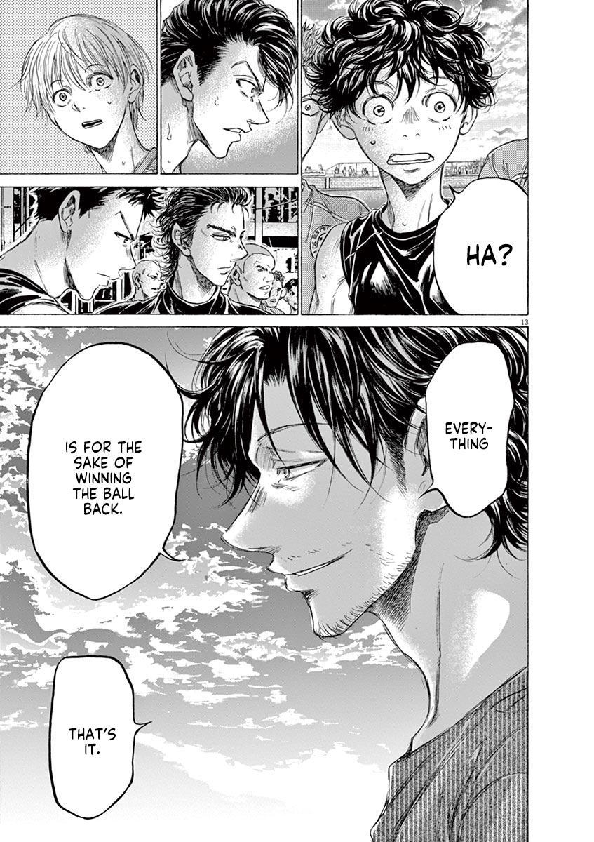 Ao Ashi Vol.16 Chapter 160: Surprising Point page 14 - Mangakakalots.com