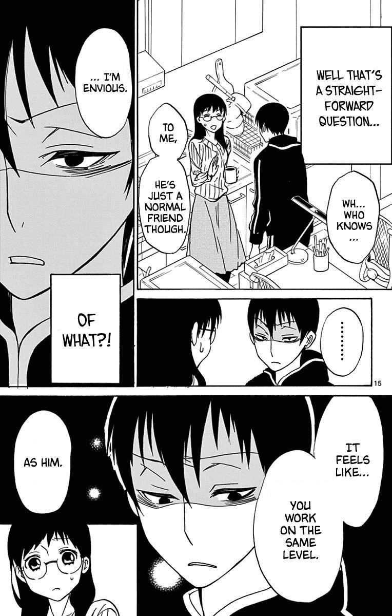 Dousei Sensei Wa Renai Ga Wakaranai. Chapter 13 page 16 - Mangakakalots.com