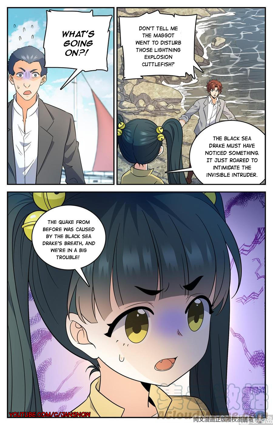 Versatile Mage Chapter 648 page 12 - Mangakakalots.com