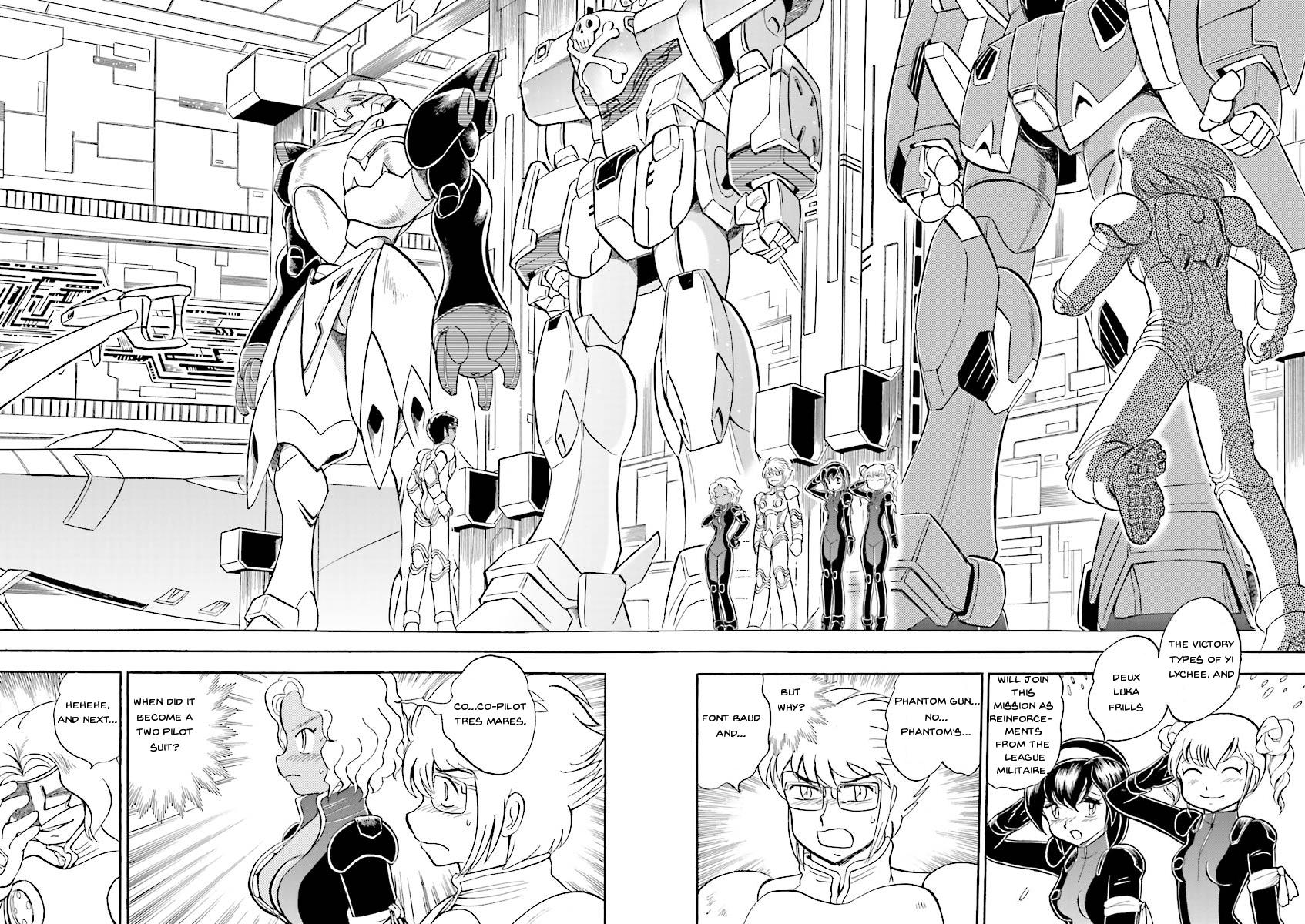Kidou Senshi Crossbone Gundam Ghost Vol.5 Chapter 19: Jaburo's Thunderclap page 7 - Mangakakalots.com