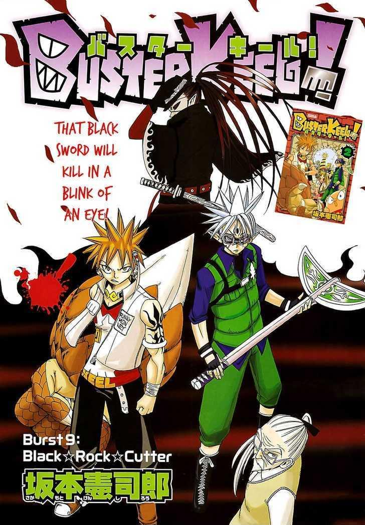 Buster Keel! Vol.2 Chapter 9 : Black?rock?cutter page 2 - Mangakakalots.com