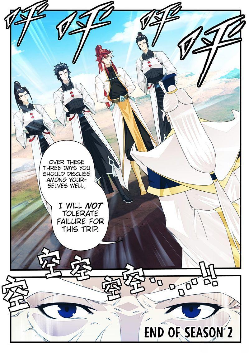 The Mythical Realm Chapter 207.2 page 9 - Mangakakalot