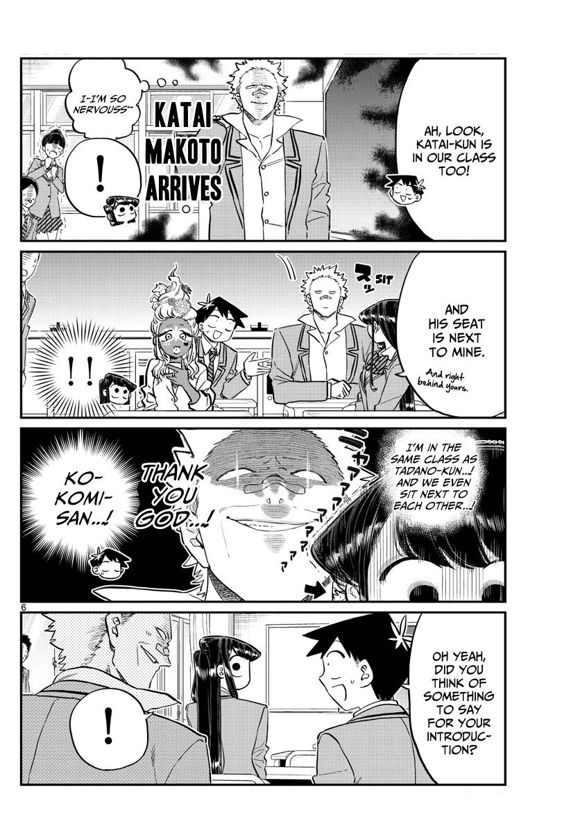 Komi-San Wa Komyushou Desu Vol.10 Chapter 130: New Class page 6 - Mangakakalot