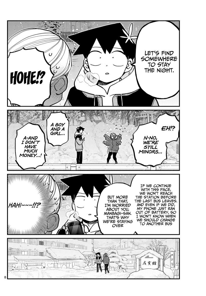 Komi-San Wa Komyushou Desu Chapter 263: Inn page 8 - Mangakakalot