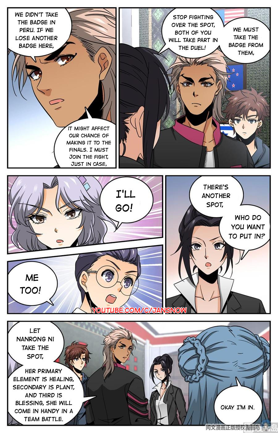 Versatile Mage Chapter 633 page 11 - Mangakakalots.com