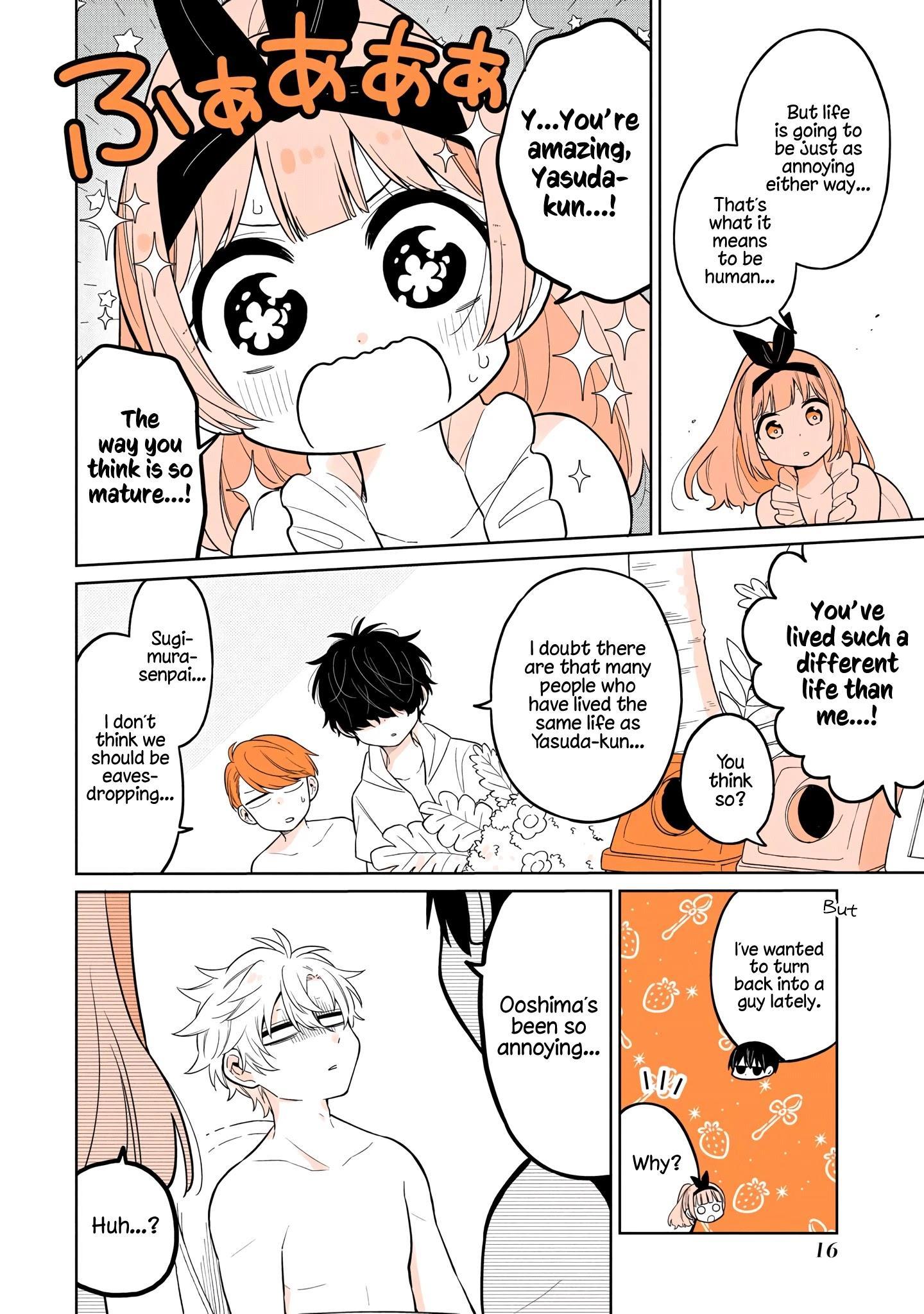 A Lazy Guy Woke Up As A Girl One Morning Chapter 16 page 17 - Mangakakalots.com