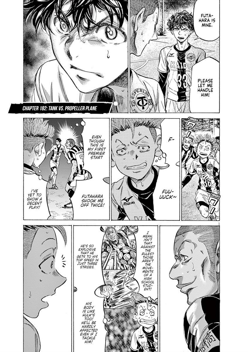 Ao Ashi Vol.18 Chapter 182: Tank Vs. Propeller Plane page 2 - Mangakakalots.com