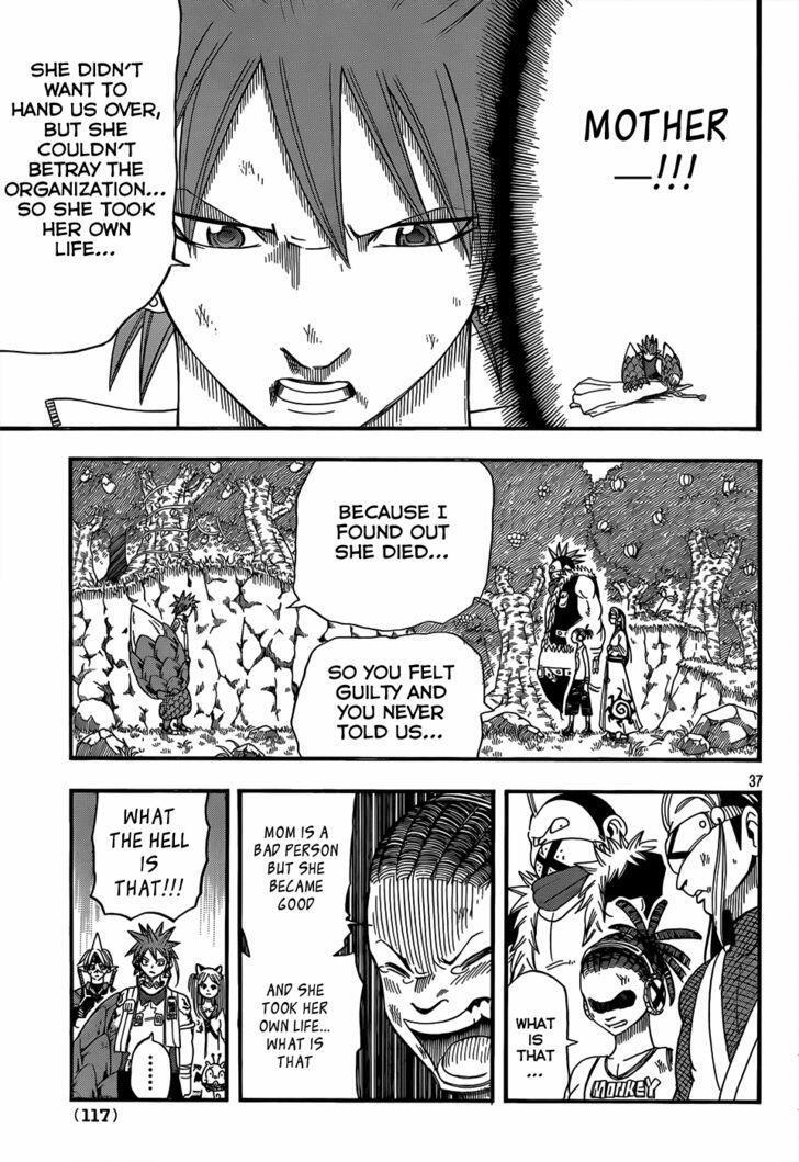 Buster Keel! Vol.3 Chapter 19 : Back To Life page 36 - Mangakakalots.com