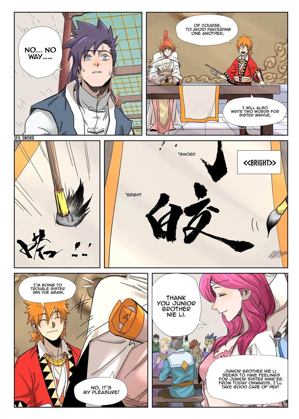 Tales Of Demons And Gods Chapter 342.1 page 10 - Mangakakalot