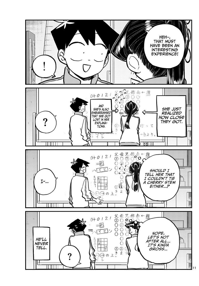 Komi-San Wa Komyushou Desu Chapter 246: Gymnasium Storage page 11 - Mangakakalot