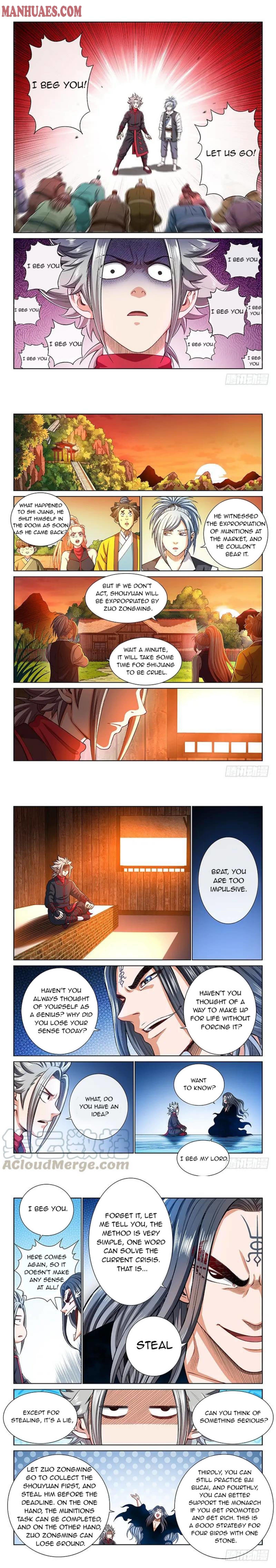 I Am A Great God Chapter 195 page 3 - Mangakakalots.com
