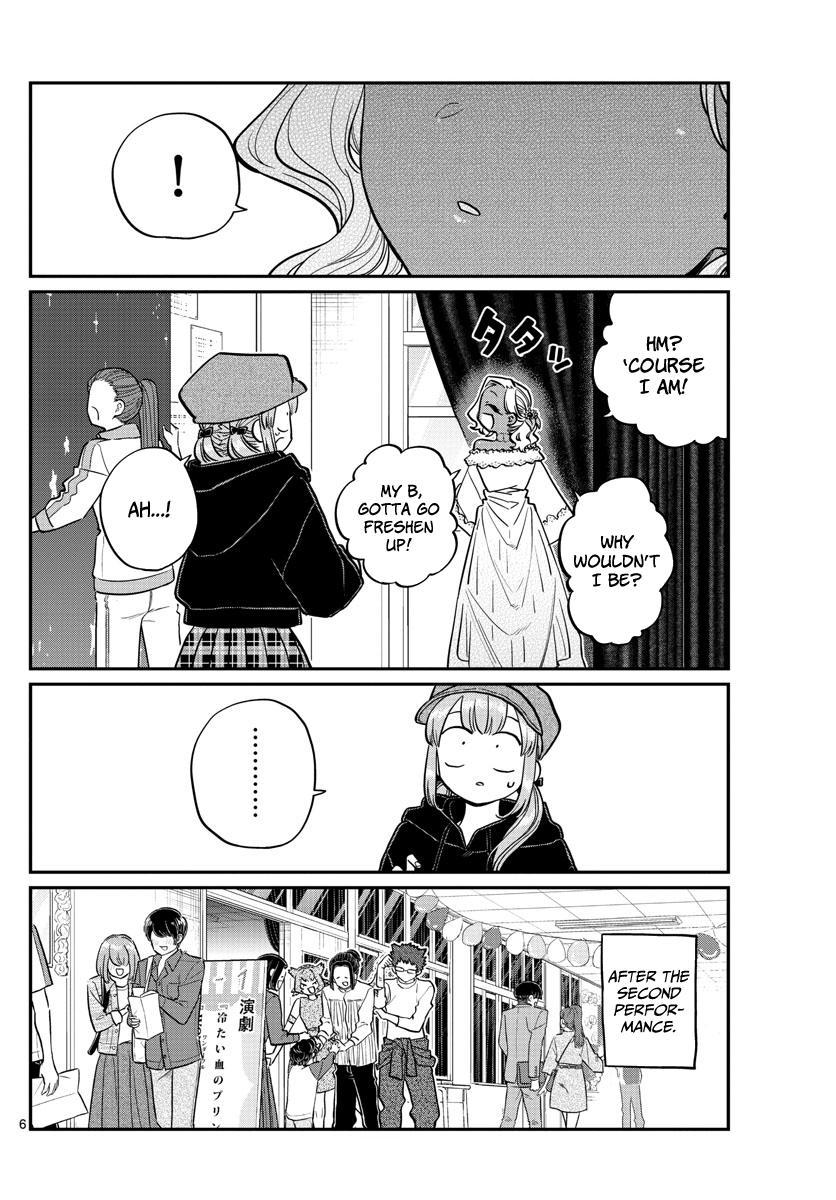 Komi-San Wa Komyushou Desu Chapter 225: I'm Okay page 6 - Mangakakalot