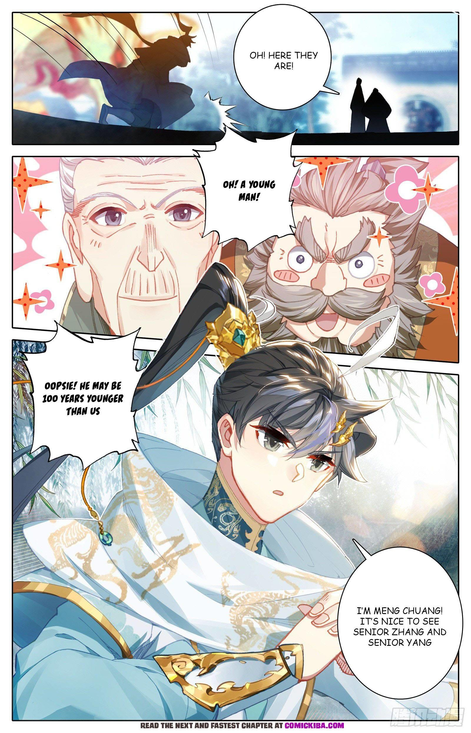 Azure Legacy Chapter 101 page 13 - Mangakakalots.com