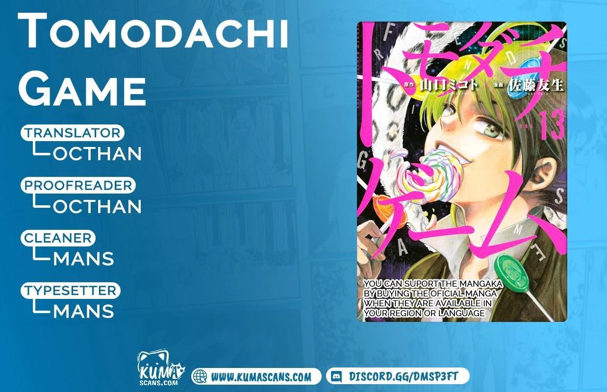 Tomodachi Game Chapter 87 page 1 - Mangakakalots.com