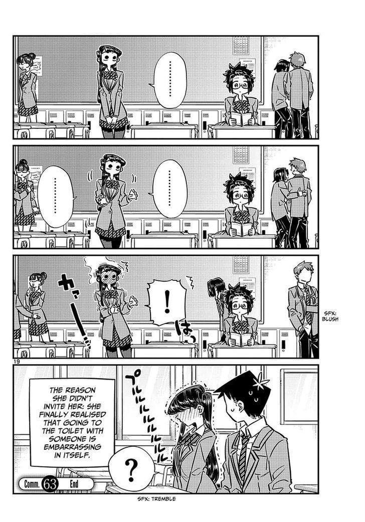 Komi-San Wa Komyushou Desu Vol.5 Chapter 63: Coupling page 5 - Mangakakalot