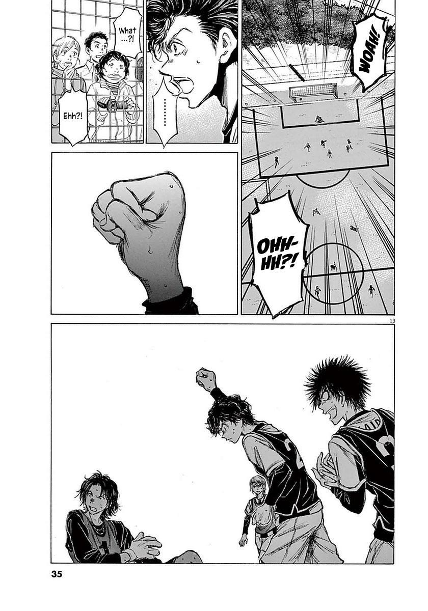 Ao Ashi Vol.4 Chapter 30: Walk page 12 - Mangakakalots.com
