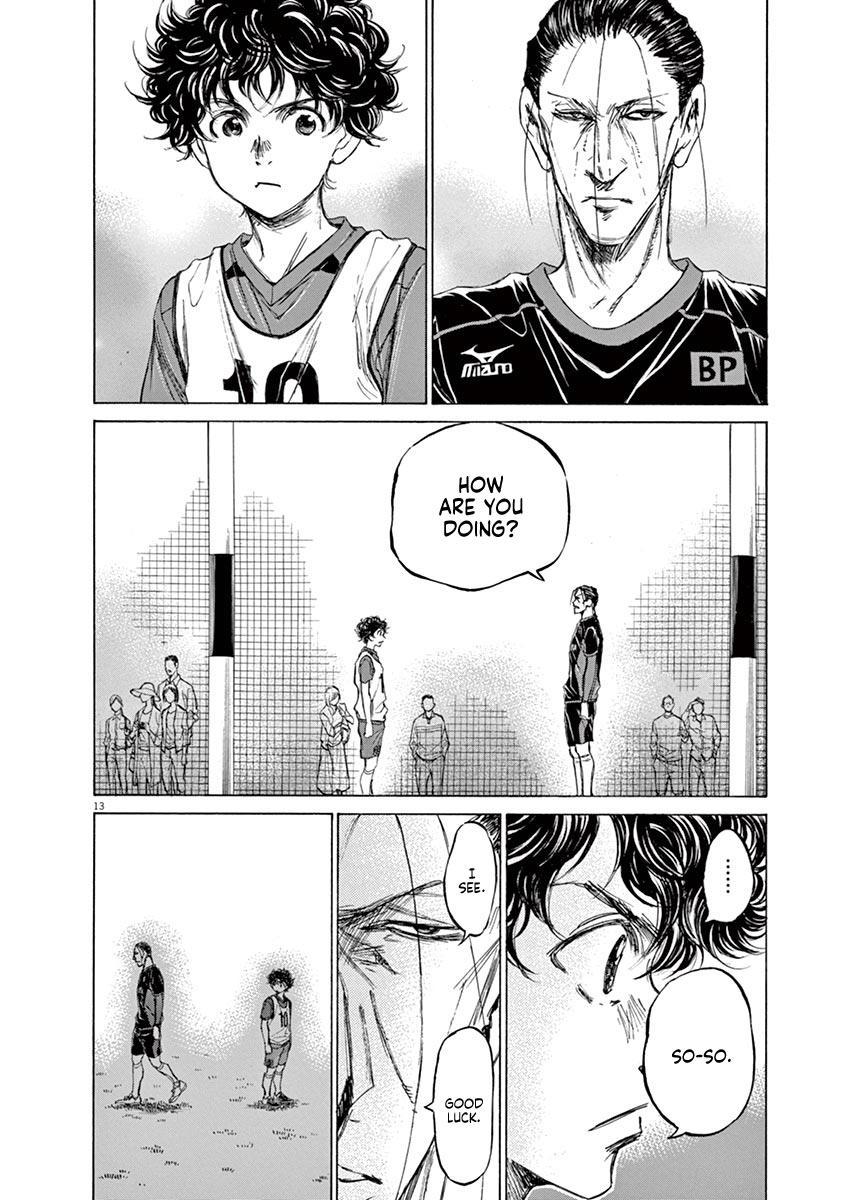 Ao Ashi Vol.7 Chapter 66: Look Out page 14 - Mangakakalots.com