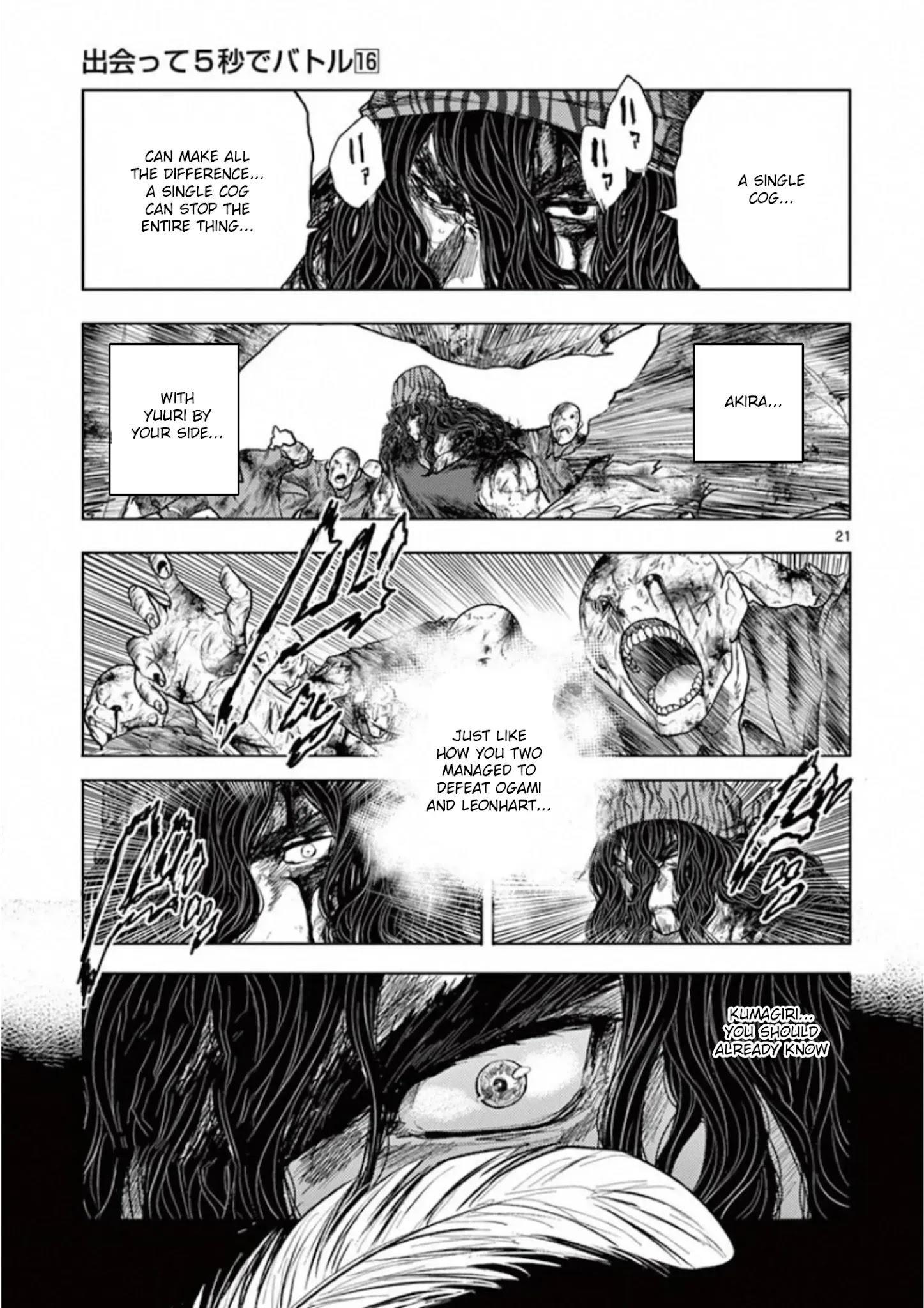 Deatte 5 Byou De Battle Chapter 139: The Strongest Man page 19 - Mangakakalots.com