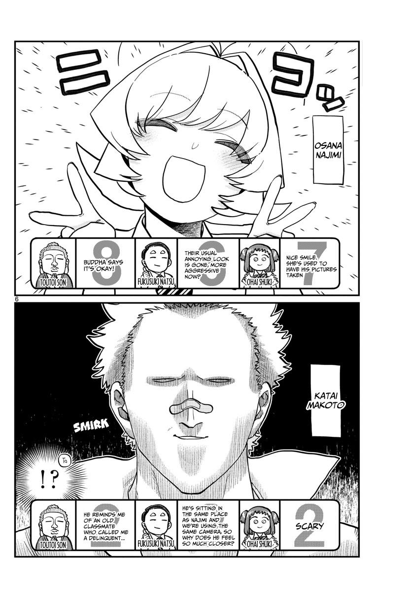 Komi-San Wa Komyushou Desu Chapter 201: Smile page 7 - Mangakakalot