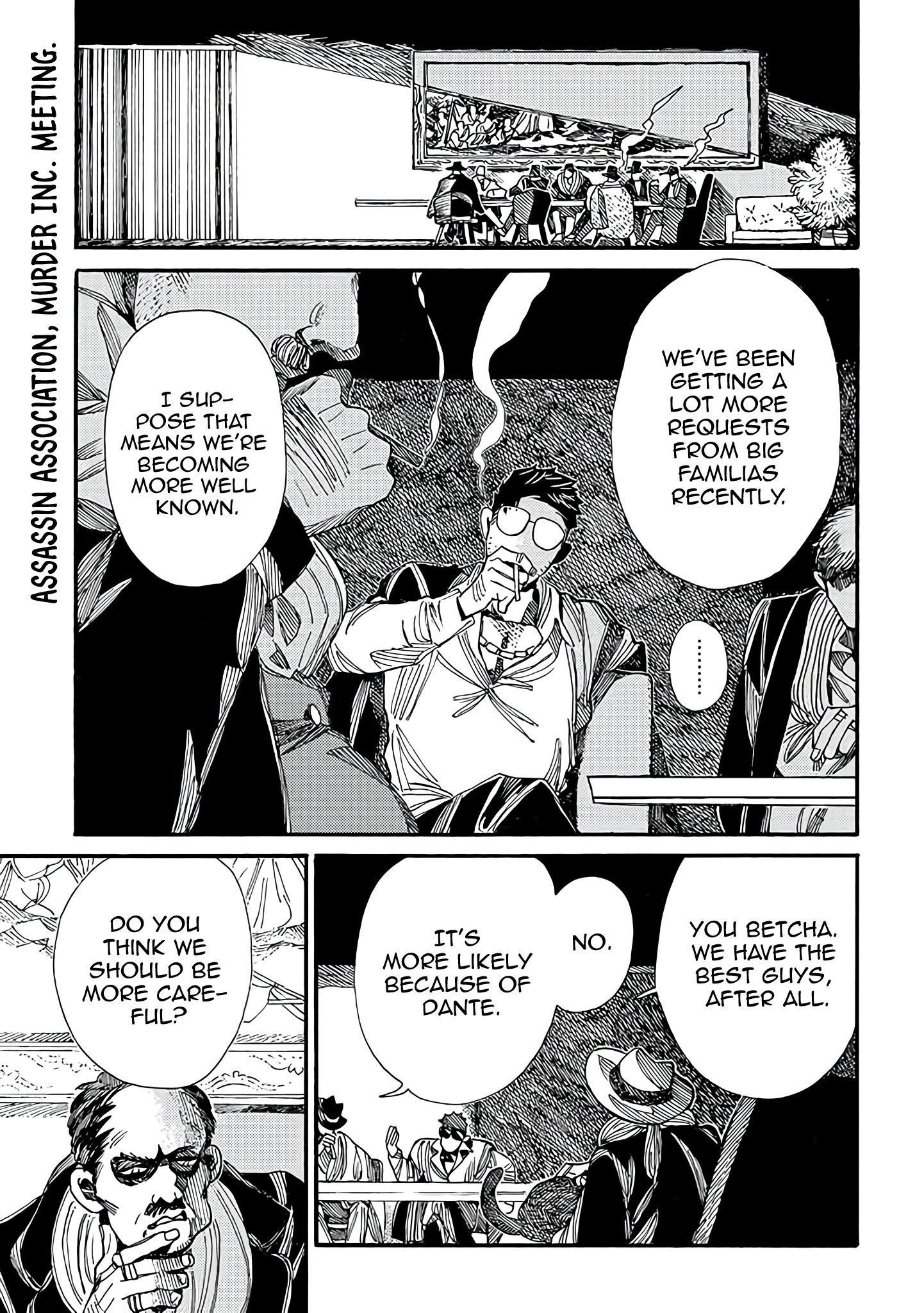 Assassin No Kyuujitsu Chapter 9: Part-Time Job page 2 - Mangakakalots.com