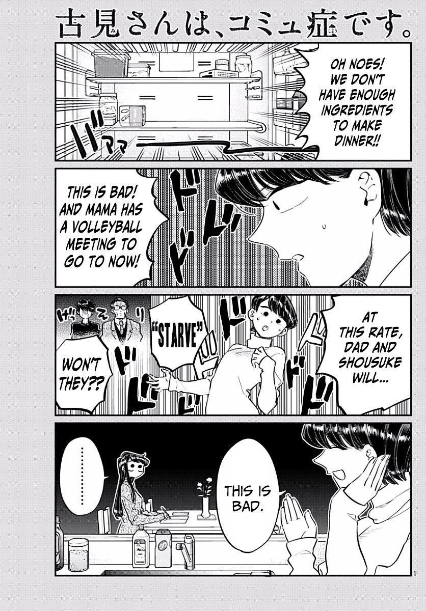 Komi-San Wa Komyushou Desu Vol.7 Chapter 96: Shopping For Dinner page 1 - Mangakakalot