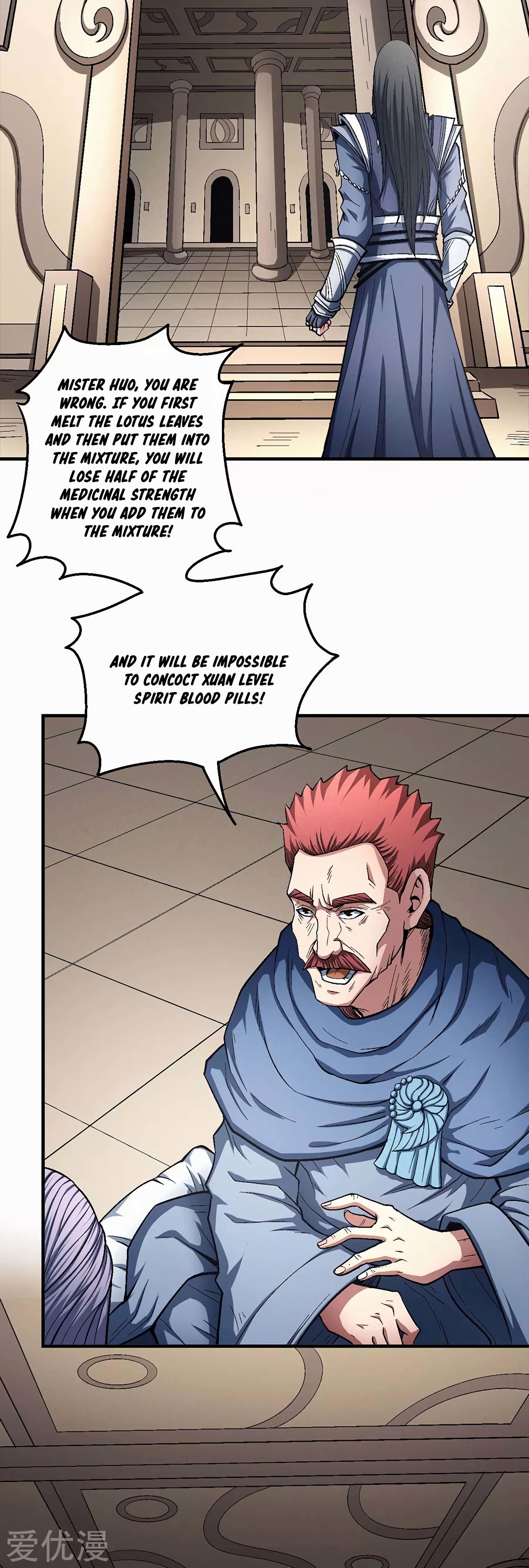 God Of Martial Arts Chapter 127.2: Mister Chi page 26 - Mangakakalots.com