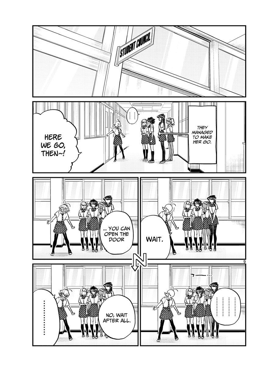 Komi-San Wa Komyushou Desu Chapter 200: The Student Council page 9 - Mangakakalot