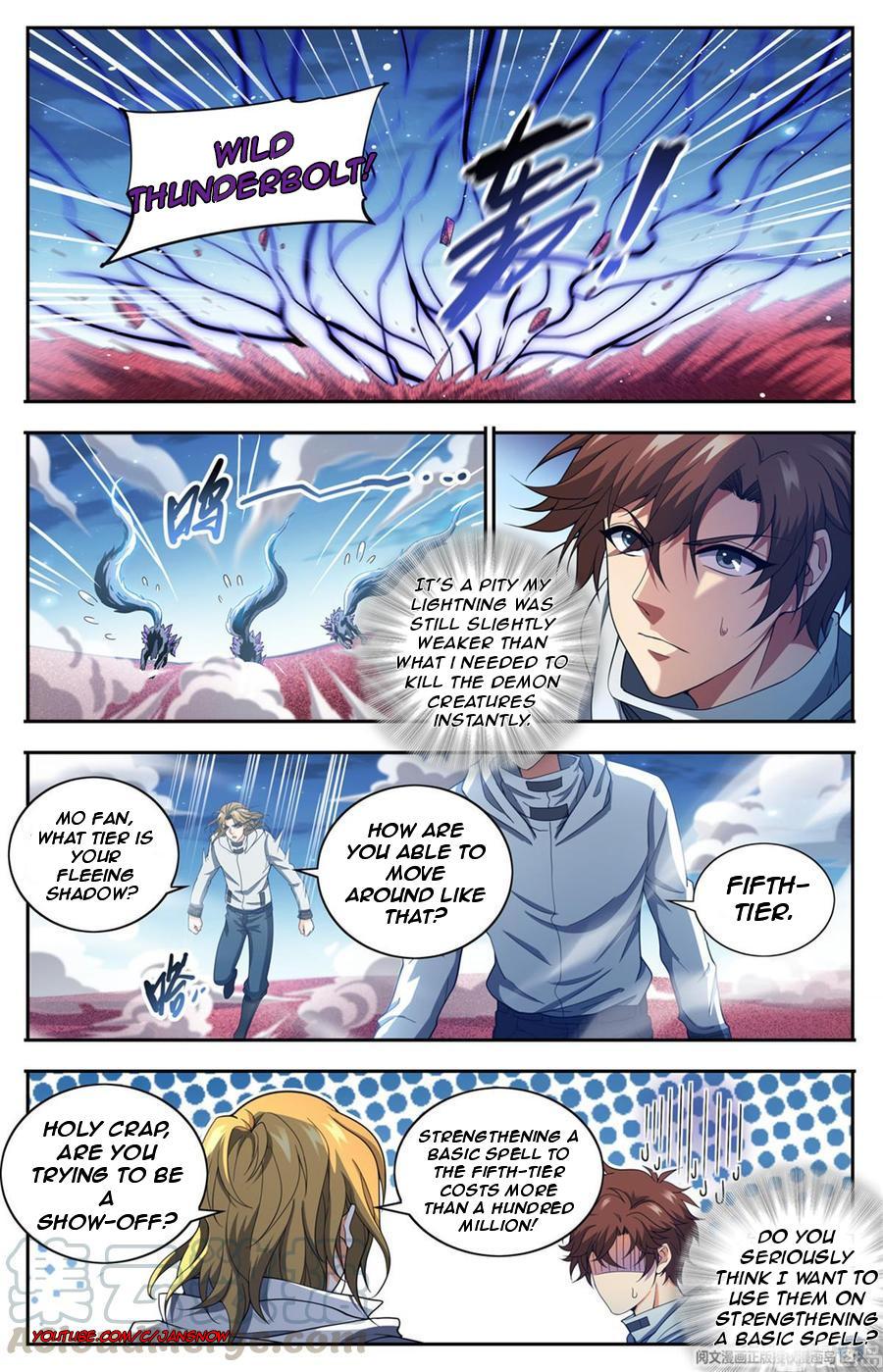 Versatile Mage Chapter 658 page 10 - Mangakakalots.com