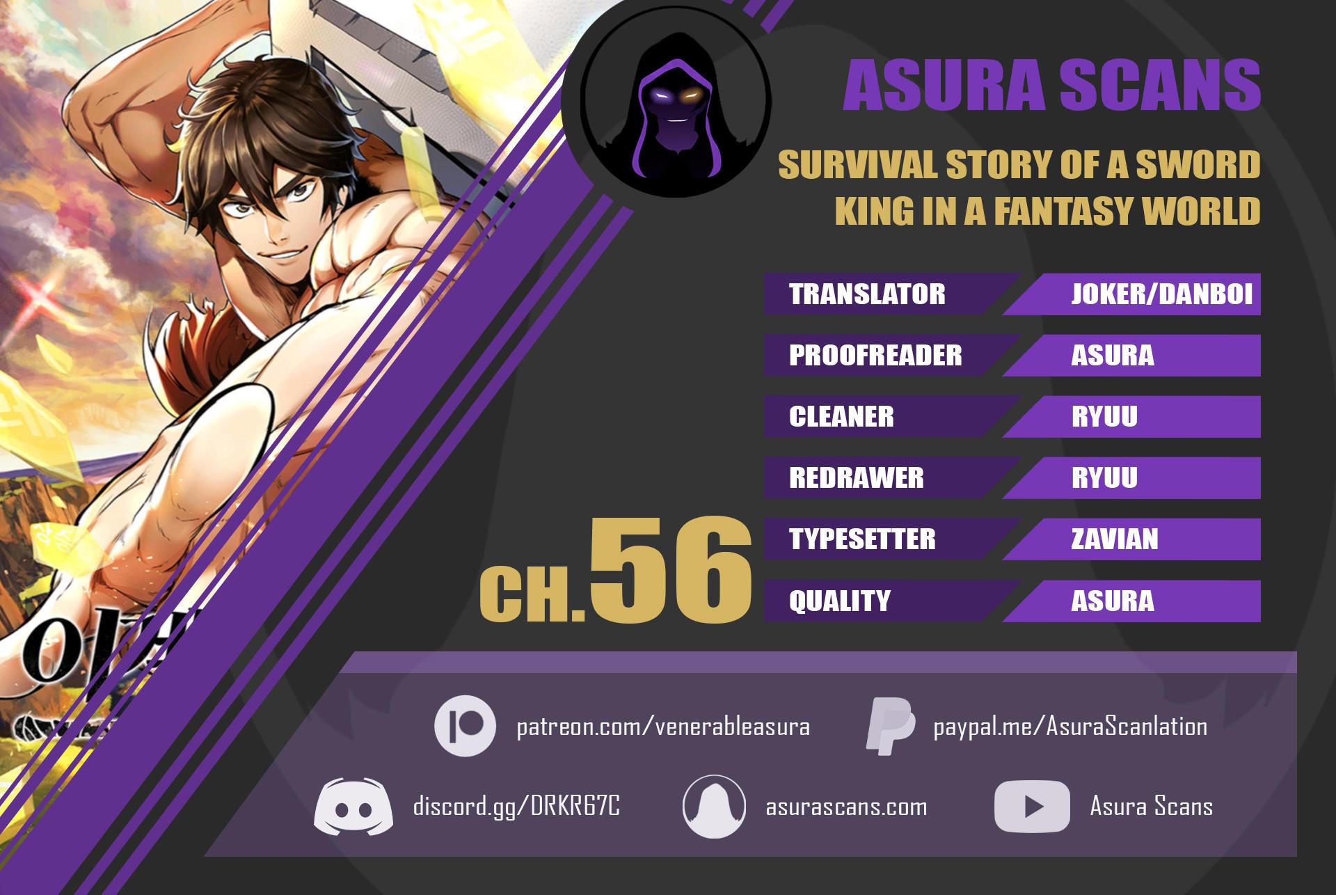 Survival Story Of A Sword King In A Fantasy World Chapter 56 page 1 - Mangakakalots.com