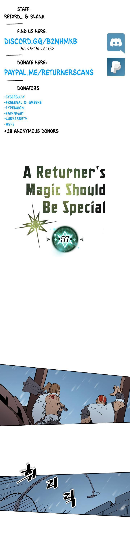 A Returner's Magic Should Be Special Chapter 57 page 1 - Mangakakalots.com