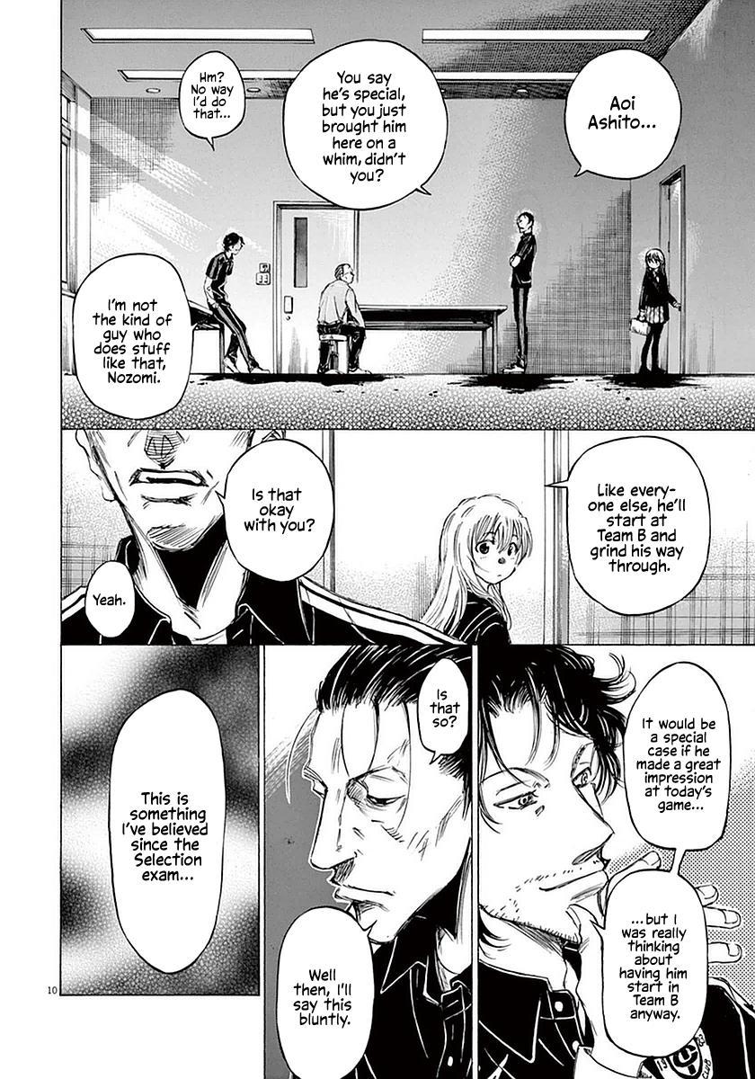 Ao Ashi Vol.3 Chapter 27: Hana Ichijou (1) page 10 - Mangakakalots.com