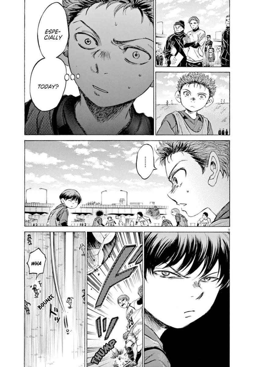 Ao Ashi Vol.9 Chapter 91: Three And A Half Years Ago (3) page 10 - Mangakakalots.com