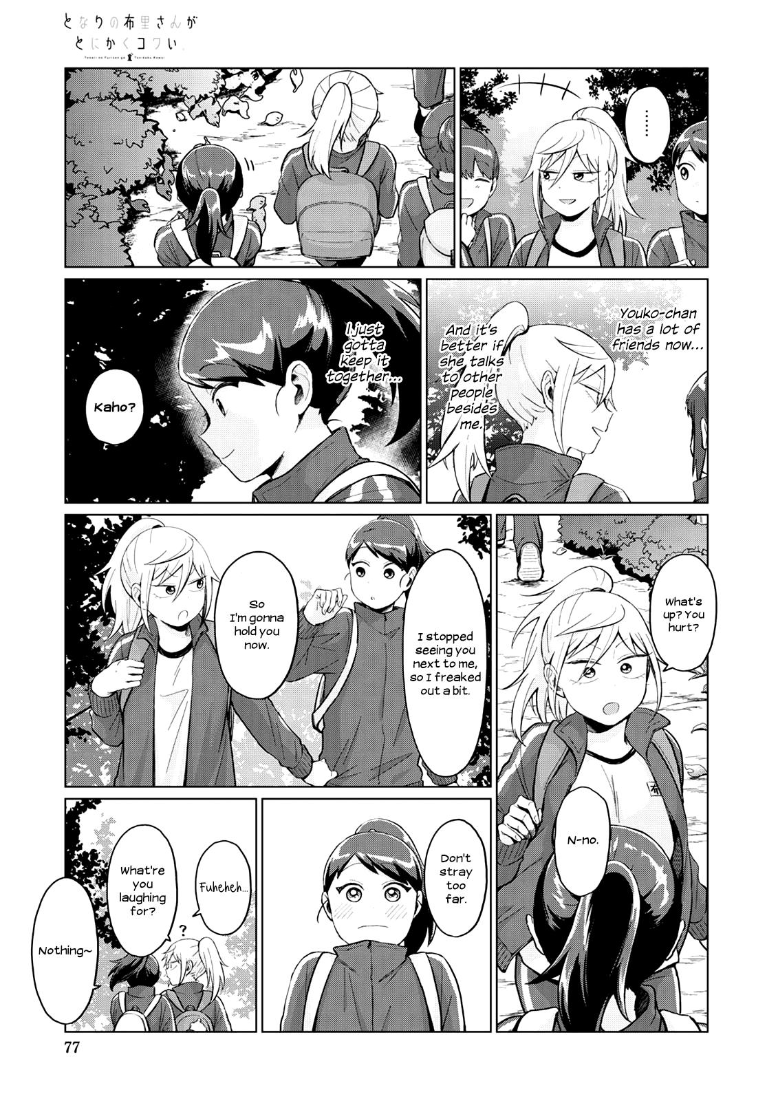 Tonari No Furi-San Ga Tonikaku Kowai Chapter 23 page 5 - Mangakakalots.com