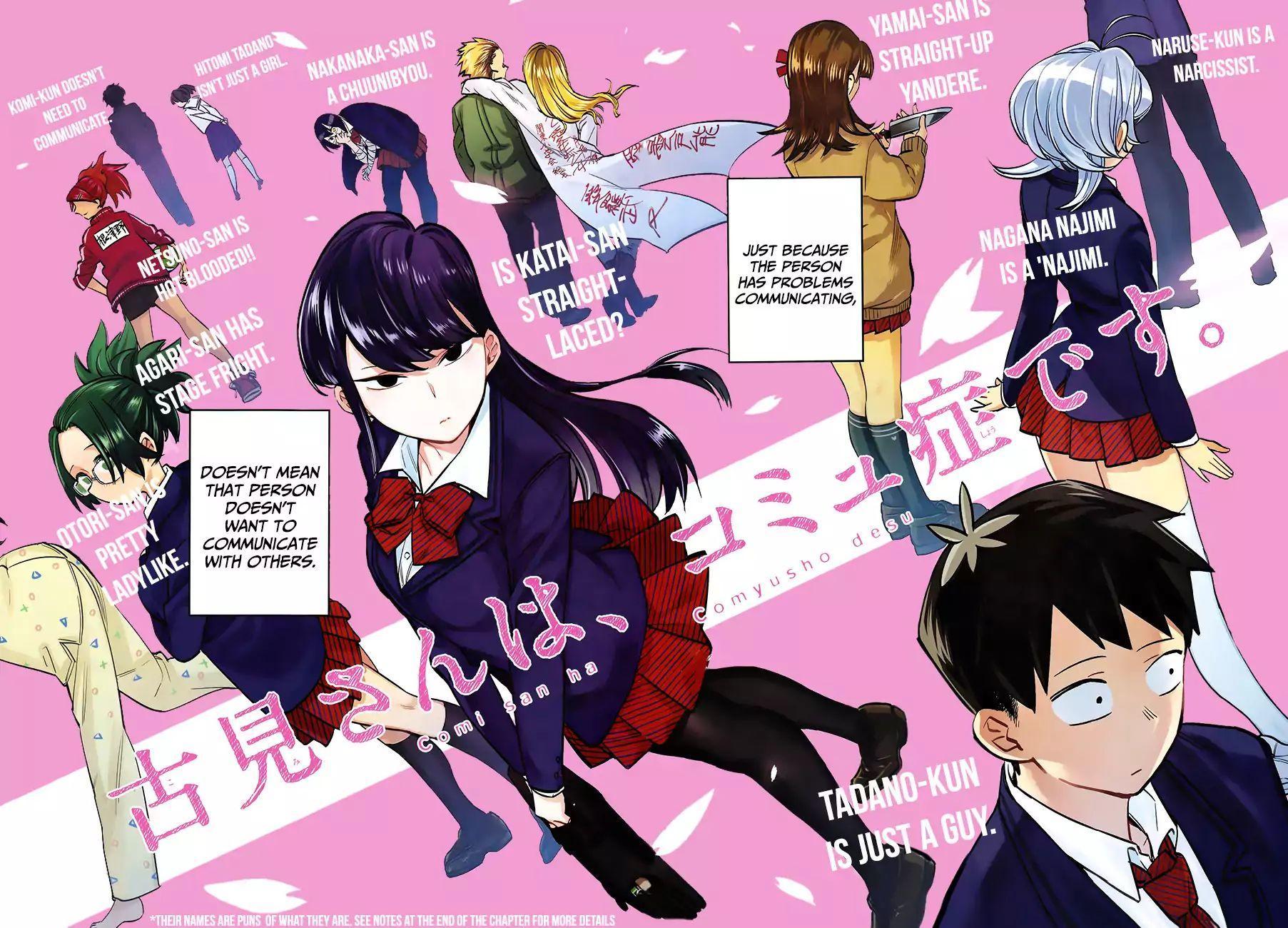 Komi-San Wa Komyushou Desu Vol.1 Chapter 1: A Normal Person page 6 - Mangakakalot