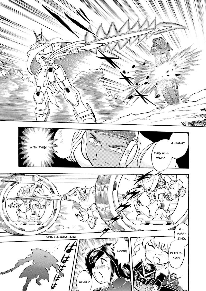 Kidou Senshi Crossbone Gundam Ghost Vol.5 Chapter 20: Beast In The Jungle page 12 - Mangakakalots.com