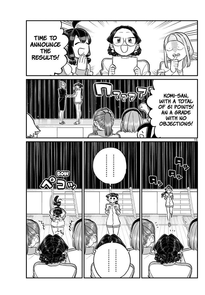 Komi-San Wa Komyushou Desu Vol.10 Chapter 137: Physical Examination 2 page 15 - Mangakakalot