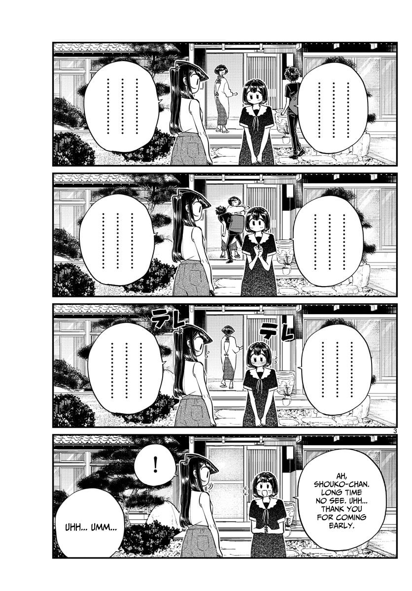 Komi-San Wa Komyushou Desu Vol.13 Chapter 184: Playing In The Country page 3 - Mangakakalot